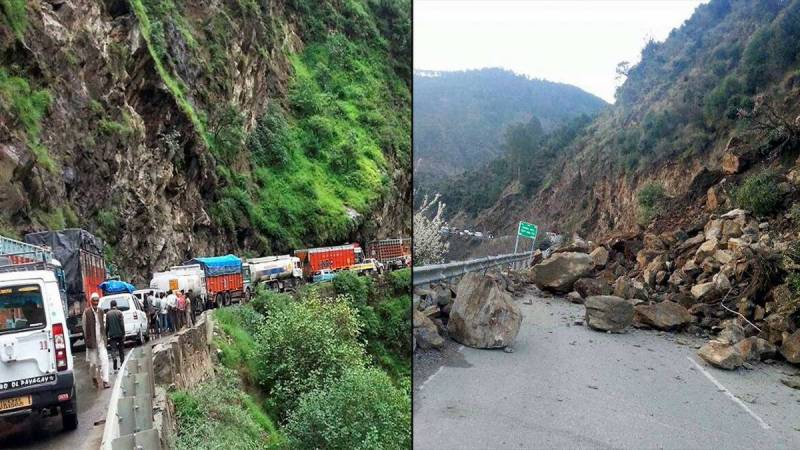 At least seven killed, 50 injured in devastating landslides in Occupied Kashmir