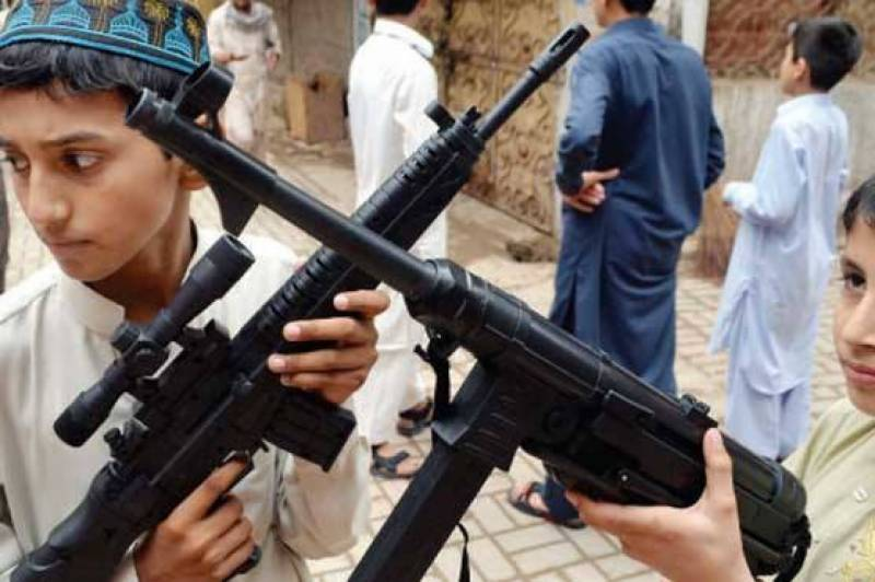 Sindh government imposes ban on arms display at public places till July 26