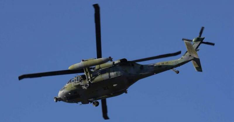 Five killed after military helicopter crashes in South Korea