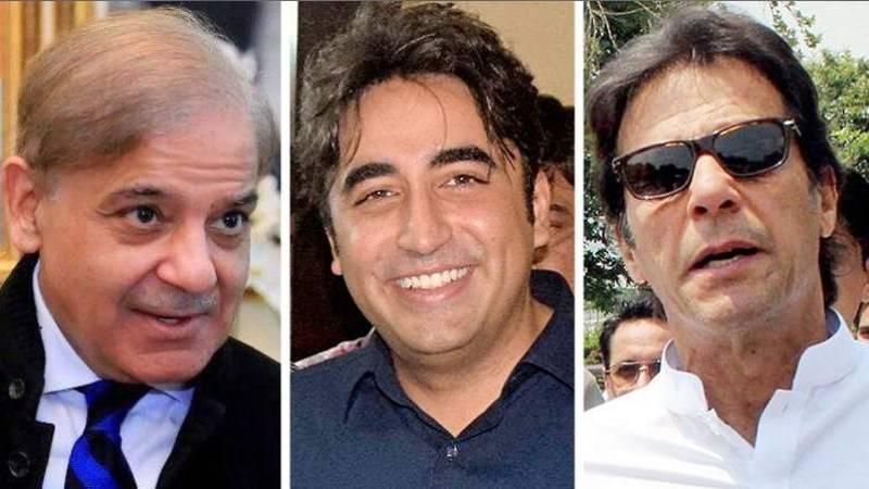 Public demands 'national election debate' between Shehbaz, Imran and Bilawal on live television