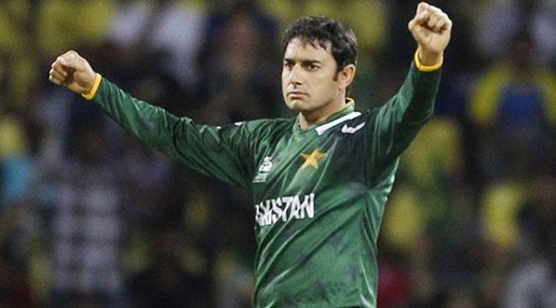 Saeed Ajmal announces to support PTI candidate in general elections