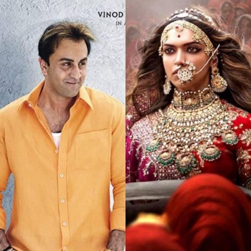 Sanju beats Padmaavat to become the highest grosser of 2018