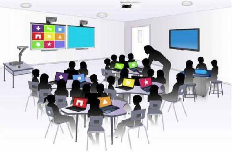 Let's offer smarter classrooms to our tech-savvy children