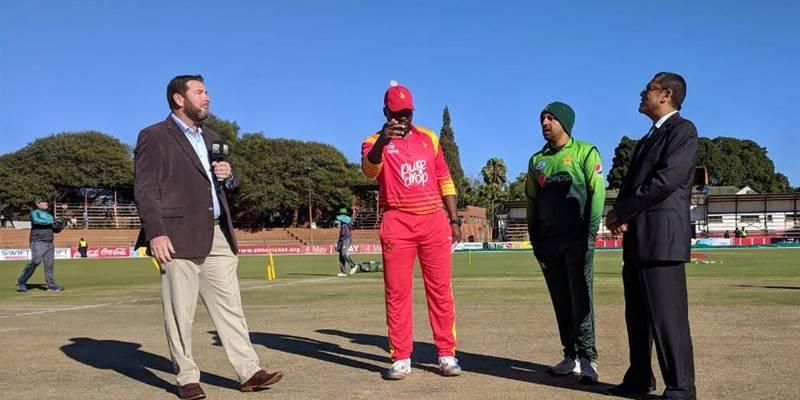 Fakhar Zaman hits double century as Pakistan set Zimbabwe 400 target