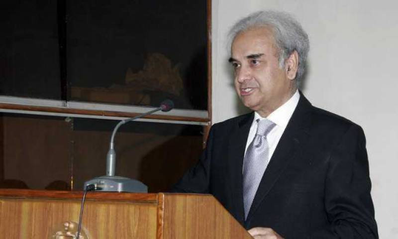 Caretaker PM congratulates Pakistanis on successful elections