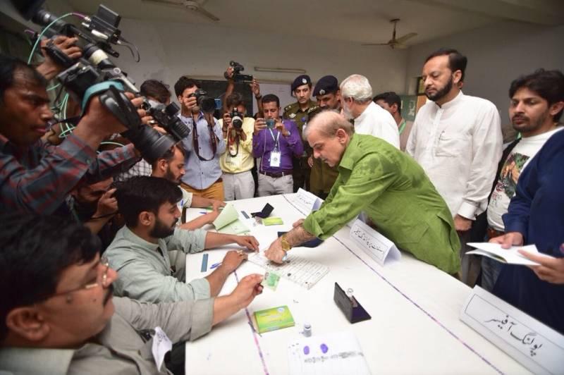 PML-N to change Pakistan's destiny, vows Shehbaz Sharif after casting vote