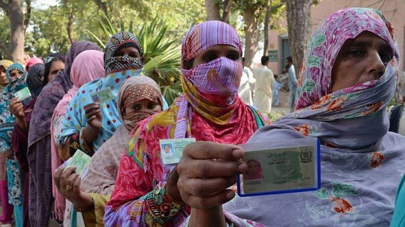 Women in Khushab, Upper Dir make history by casting votes for first time in 70 years