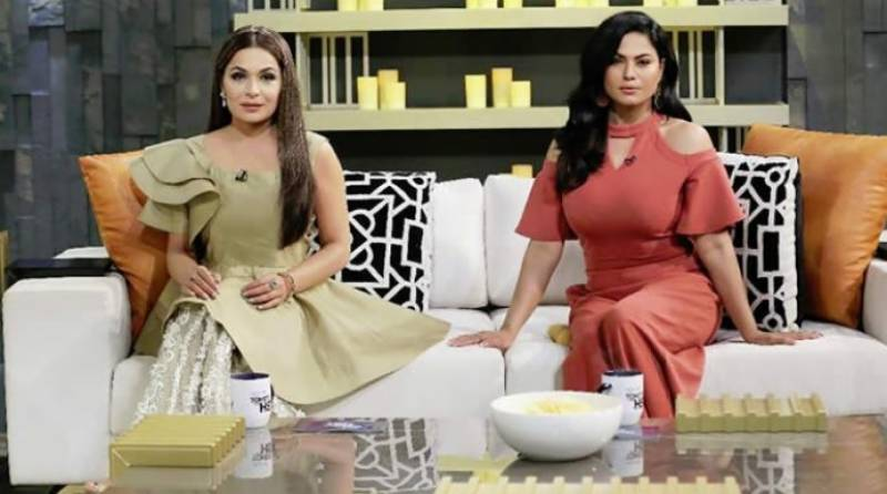 Meera and Veena Malik's interaction on 'Tonite with HSY' is pure gold