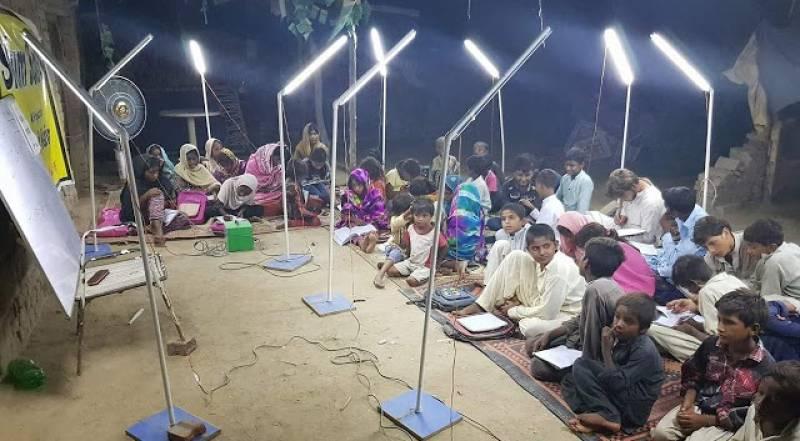 Education For All: Pakistan's first solar night school enlightens slums