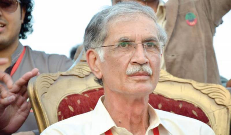 Pervaiz Khattak tenders unconditional apology in foul language case