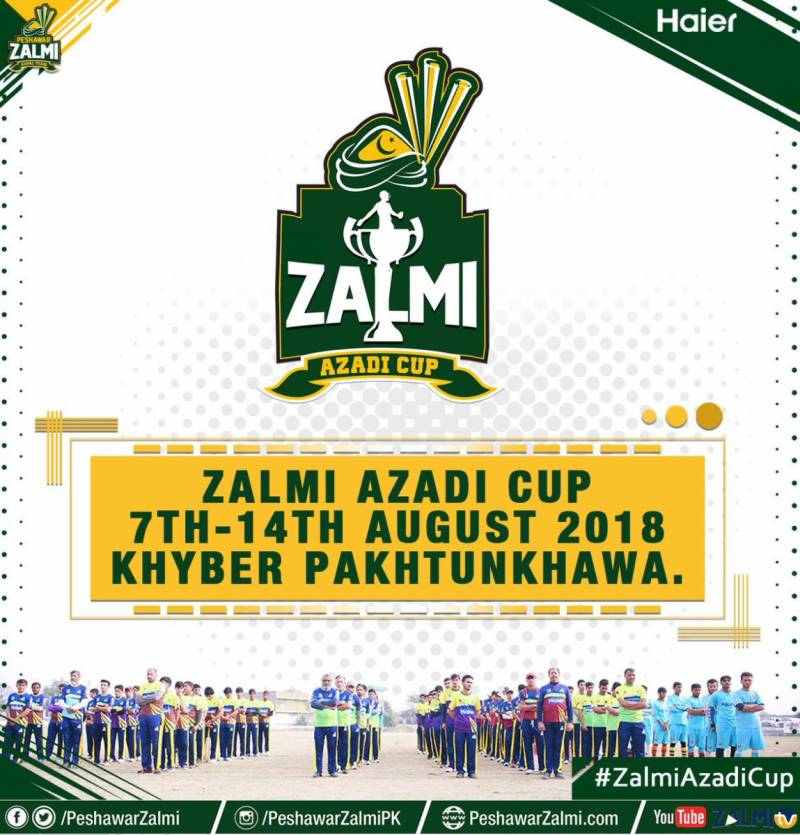 Peshawar Zalmi to hold Azadi Cup in KP