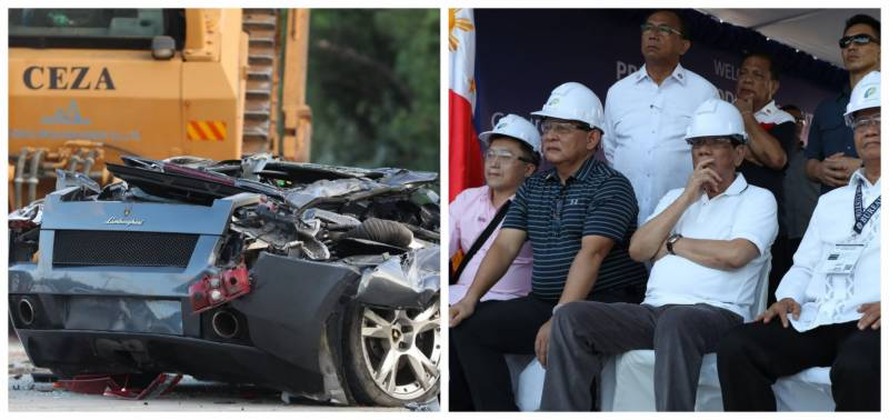 VIDEO: Filipino president oversees destruction of $5.5m luxury cars, bikes in anti-corruption drive
