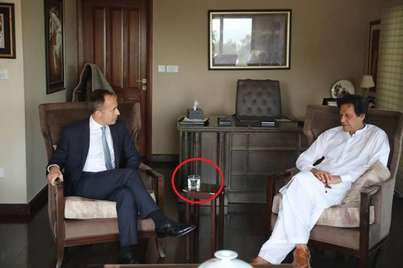 A cup of tea or water, that's all being offered by Imran Khan to diplomats amid austerity promise