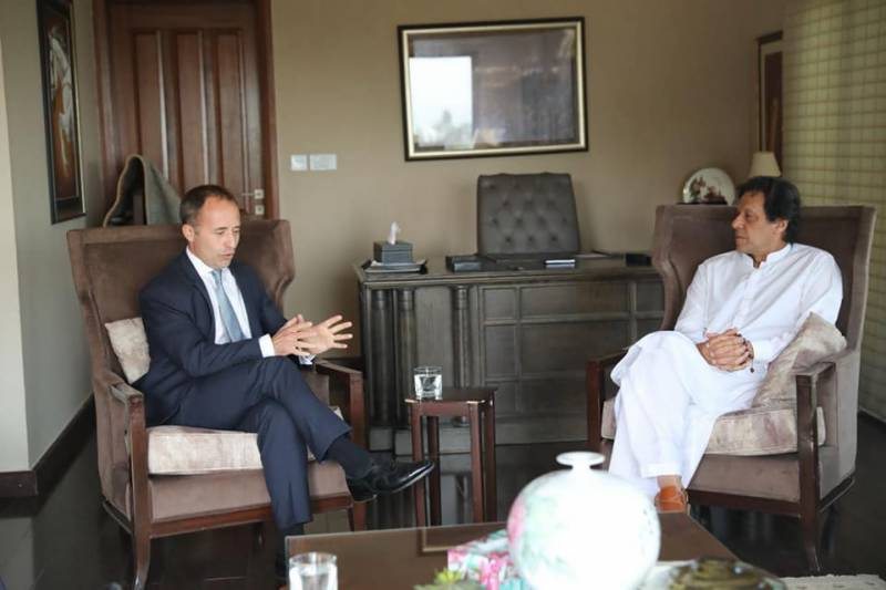Imran Khan tells British diplomat to return embezzled money stashed in UK