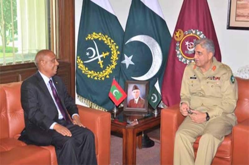 Maldives' High Commissioner calls on COAS