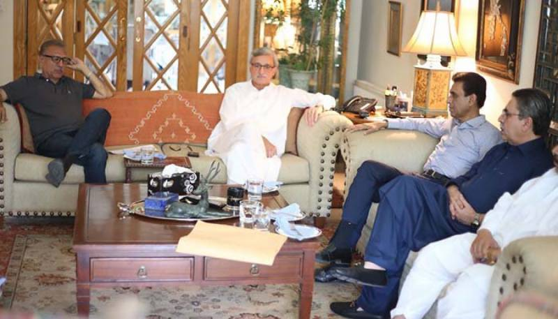 MQM-P delegation calls on Imran Khan for coalition government talks