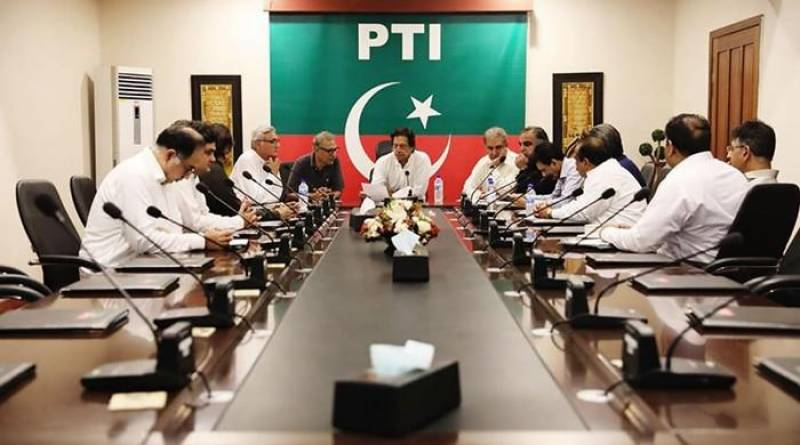 MQM-P delegation meets Imran Khan, announces to support PTI in centre