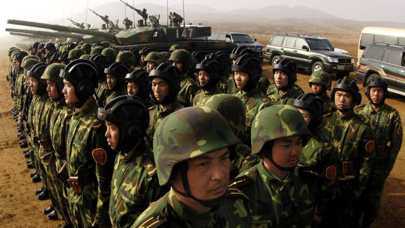 China 'willing' to join Syria war
