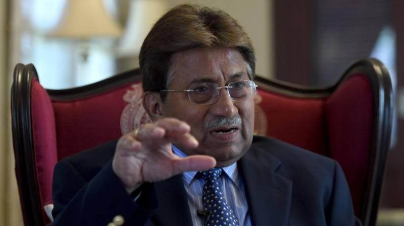 Musharraf filmed seeking covert US support to regain power