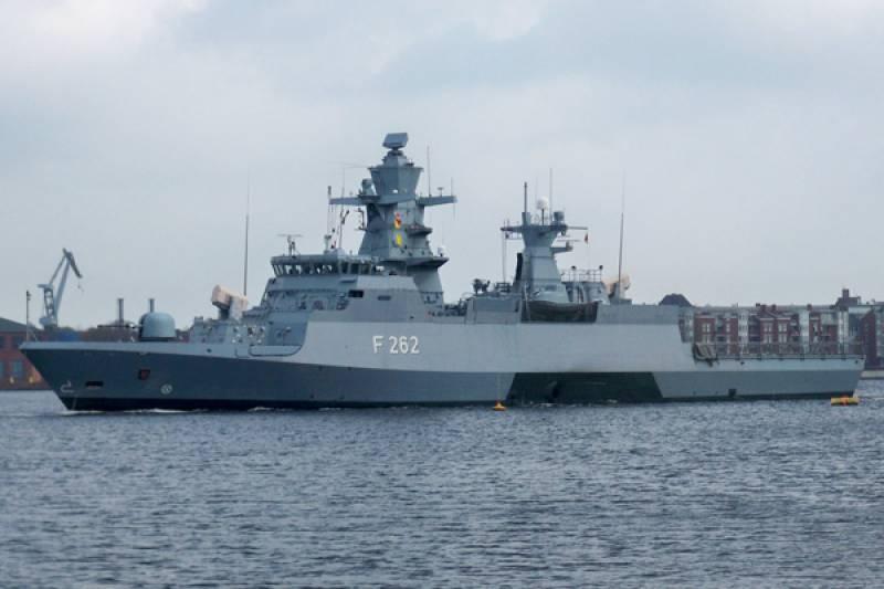 Pakistan Navy Ship arrives in Germany on historic visit