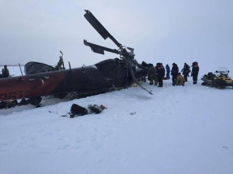 Russian helicopter crash in northern Siberia kills 18