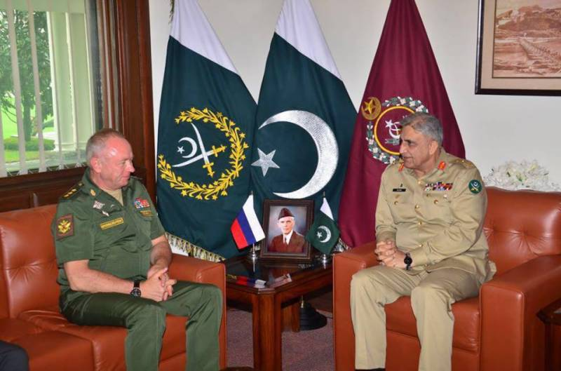 COAS Bajwa, Russian Deputy Defence Minister discuss security cooperation