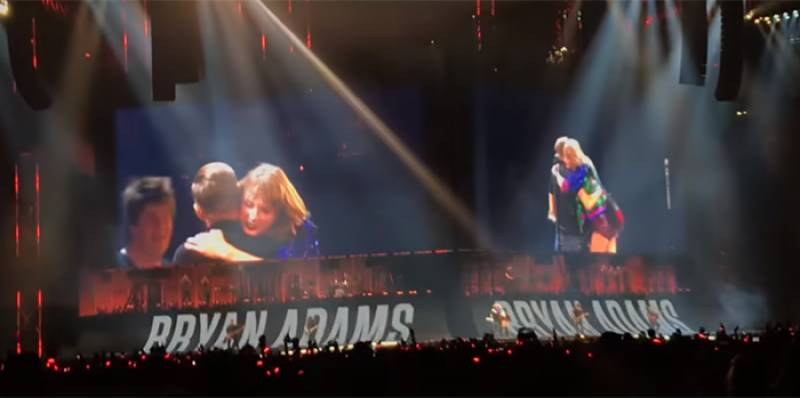 Taylor Swift, Bryan Adams surprise Toronto with Summer Of 69 duet