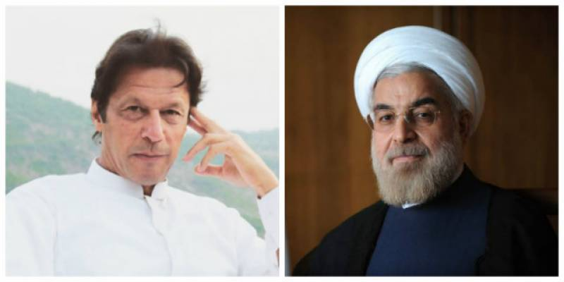 Imran Khan accepts President Rouhani's invitation to visit Iran