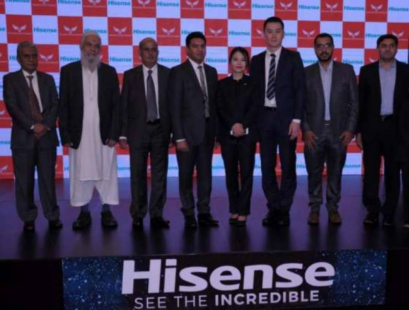 Hisense TV launched in Pakistan