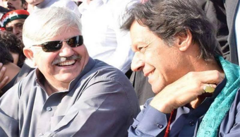 PTI's Mehmood Khan elected CM KPK