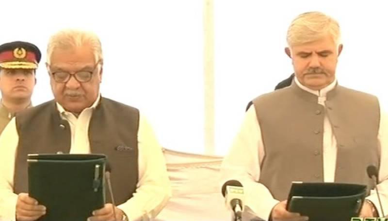 Mehmood Khan sworn in as CM KPK