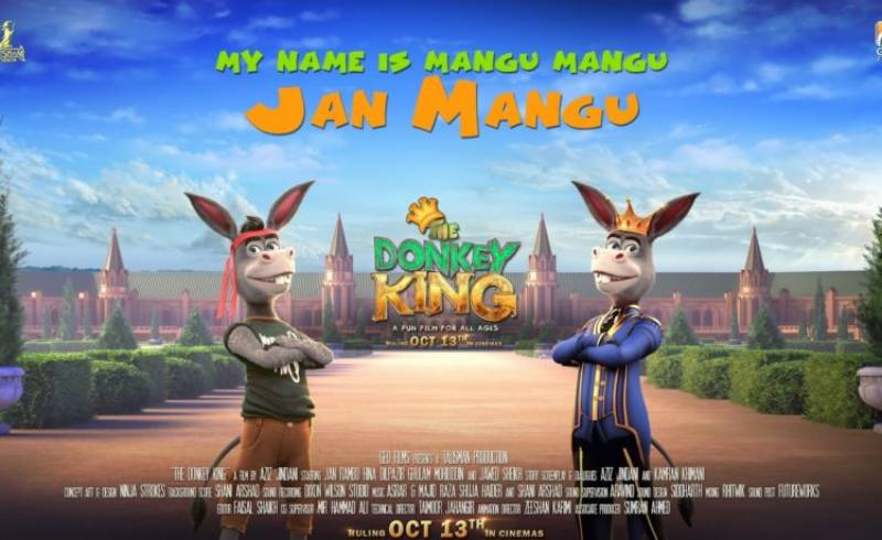 First teaser of Pakistani animated movie 'The Donkey King' is out!