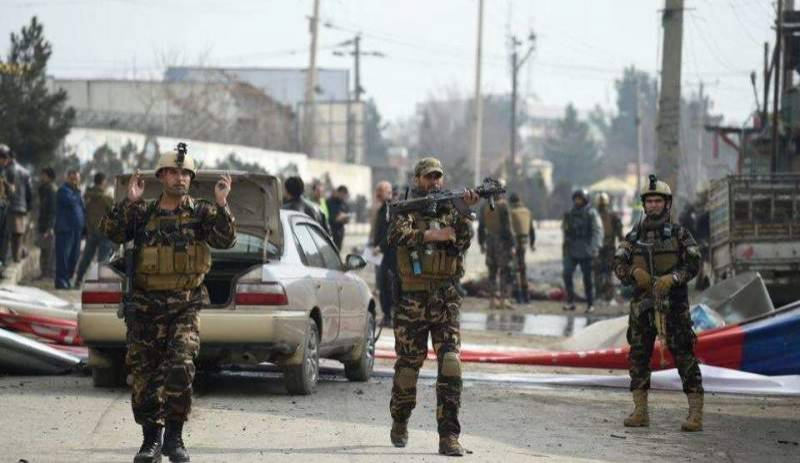 Two hurt as multiple rockets land near presidential palace in Kabul