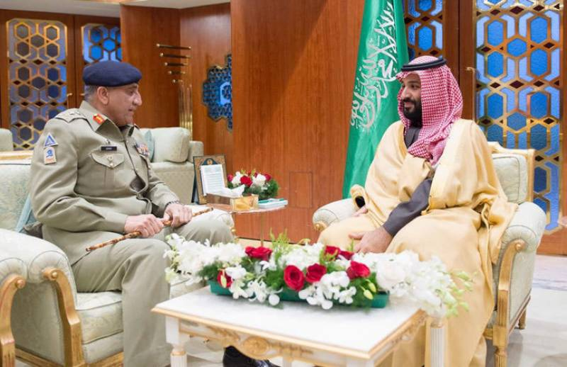 COAS Bajwa, Saudi Crown Prince MBS discuss matters of mutual interest in Mina meeting