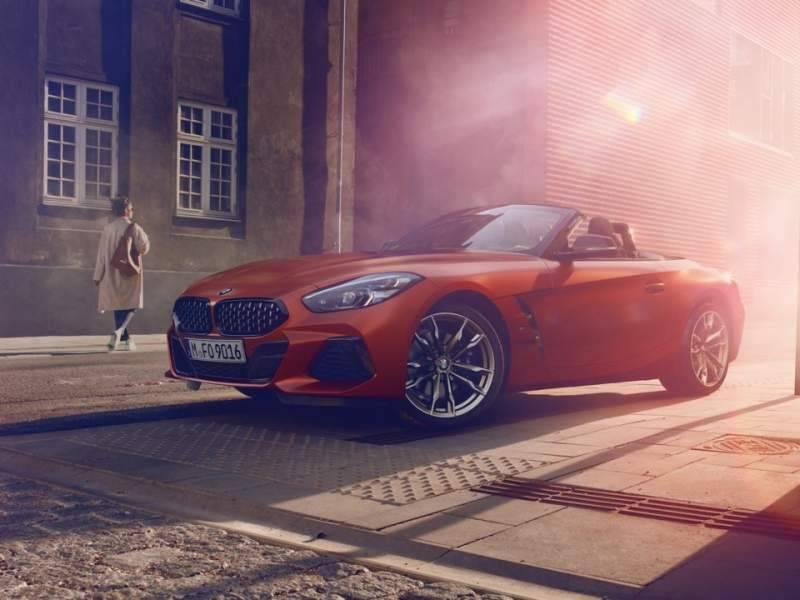 BMW unveils much awaited third generation Z4 Roadster