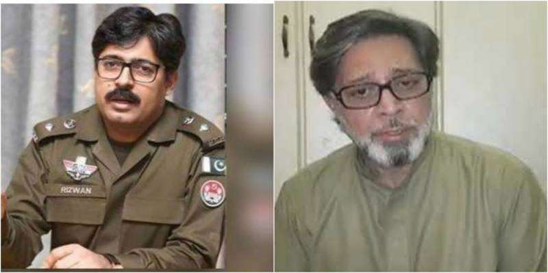 DPO Pakpattan allegedly transferred for not apologising to Khawar Maneka