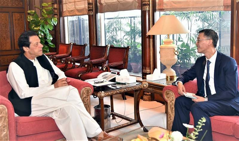 Saudi, Chinese envoys call on PM Imran Khan, discuss issues of mutual interest