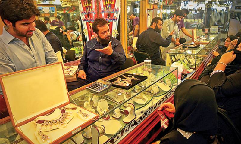 Gold price increases by Rs2000 per tola