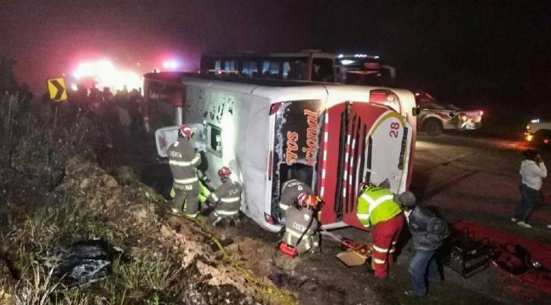 11 killed in latest Ecuador bus crash
