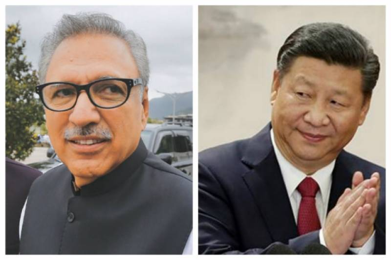 China and Pakistan must support each other more staunchly under current circumstances, Xi tells Alvi