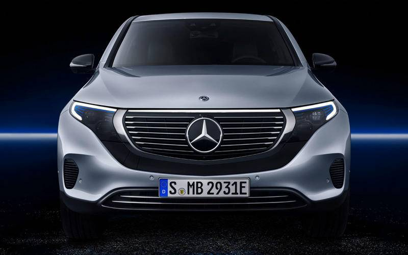 Mercedes unveils its first fully-electric SUV