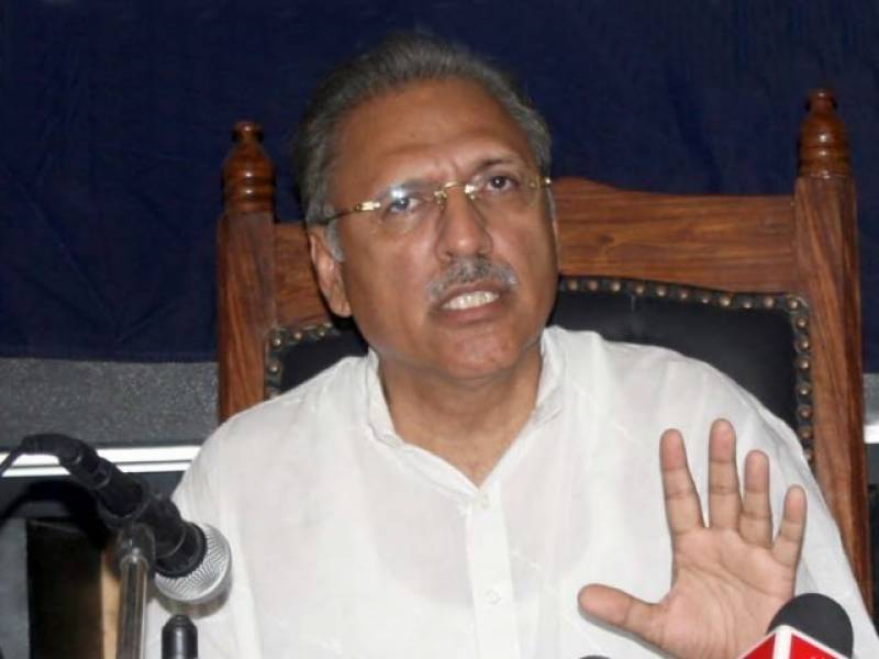 President-elect Alvi resigns from NA seat