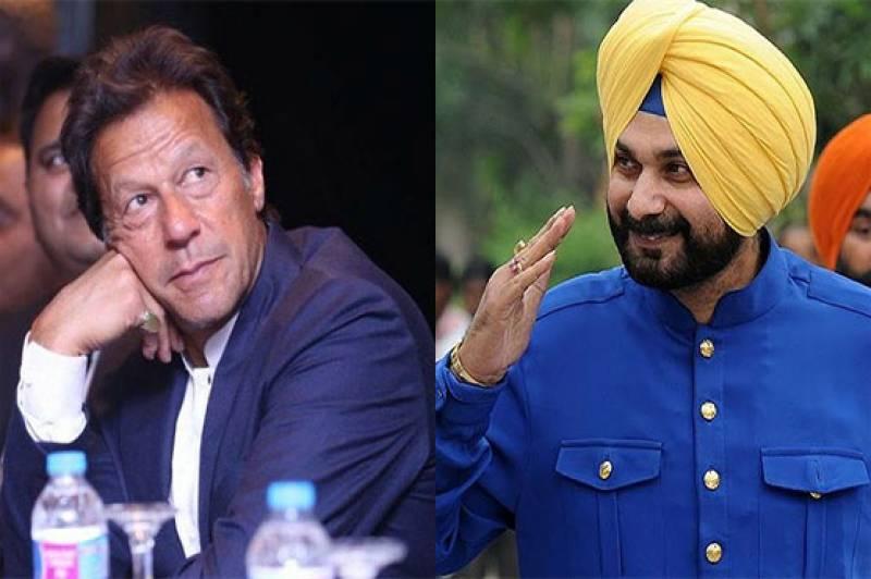 Sidhu credits Pakistan for opening Kartarpur corridorfor Indian Sikh pilgrims