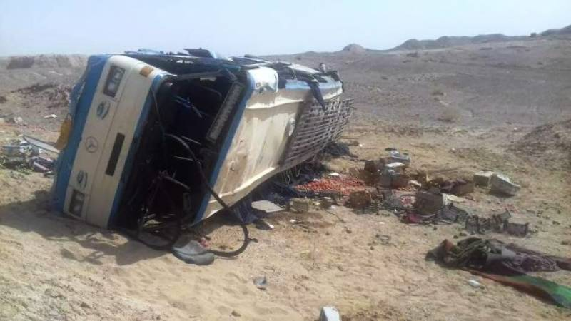 15 dead, 25 injured after bus collides with parked truck in Afghanistan
