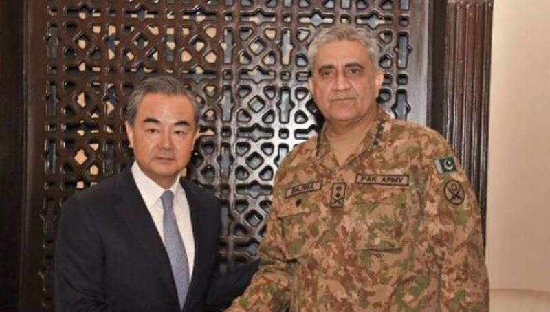 Chinese FM lauds Pakistan Army for CPEC security