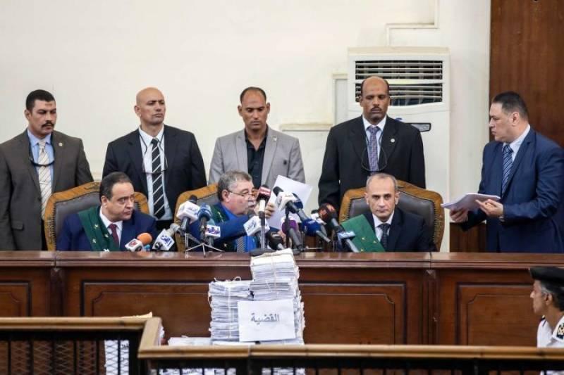 Egypt: Senior Muslim Brotherhood leaders among 75 sentenced to death over 2013 protests