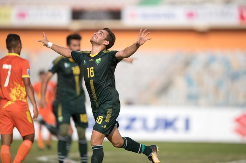 Pakistan beat Bhutan 3-0 to qualify for SAFF Cup semifinals after 13 years