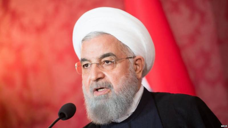 US keen to negotiate after increasing economic pressure, claims Rohani
