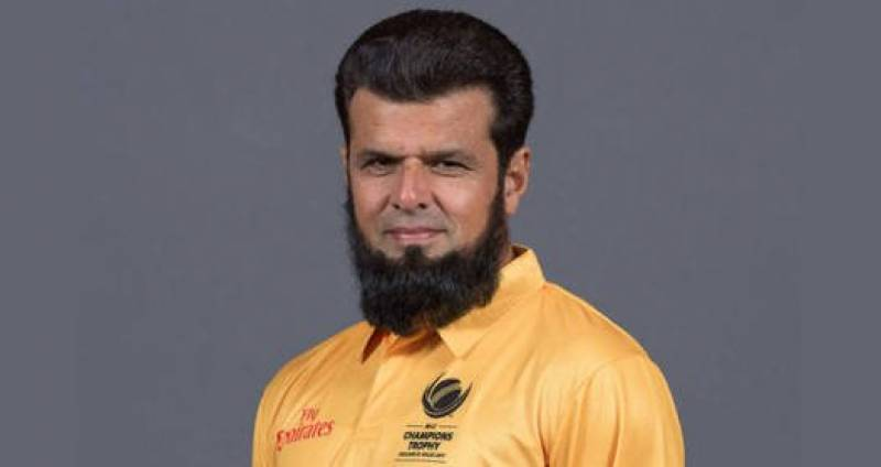 Umpire Aleem Dar contributes $10,000 to Pakistan's dams fund