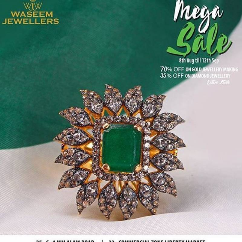 Bling Alert: Last Day of Mega Sale, Waseem Jewellers lines up best offers